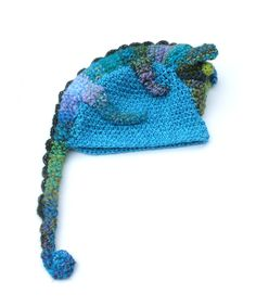 Kids Children Beanie Chameleon Hat Winter Crochet Animal Hat  Beautiful hat for 5-years and older child (or for adult :). With big chameleon. Perfect gift for animal lovers!  Circumference inside (without stretching) is 22 (55 cm)   Absolutely unique!  Please hand wash and lay flat to dry.  Made in a smoke free house.  Ready to ship.   Please check dimensions carefully. Due to lighting conditions and monitor settings, colors may appear slightly different, than they are. Items are described…