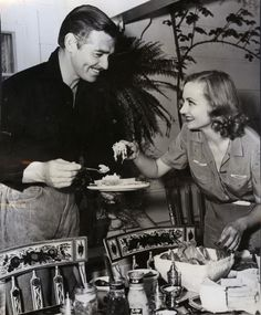 clark gable & carole lombard  THEY WERE SO IN LOVE, IT REALLY HURT HIM WHEN SHE DIED