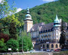 Lillafüred - A tranquil resort which is best known for its neo-Renaissance palace hotel nestled in a lakeside forest. Palace Hotel, Central Europe, Horseback Riding, Homeland, Countryside, Beautiful Places, National Parks, Travel Guides, Imagination