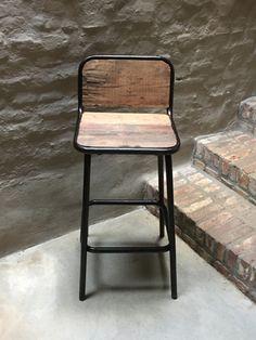 Stoere Witte Kruk.De 9 Beste Afbeelding Van Kruk Bar Chairs Bar Stool Chairs En Bar