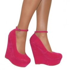 pink wedges | Shoes | Pinterest | Pink Pink wedges and Wedges