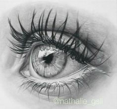 Regram worldofartists good ole graphite eye drawing by nathalie_gsll worldofartists co 2 days left! Realistic Pencil Drawings, Graphite Drawings, Art Drawings Sketches, Art Illustrations, Realistic Eye Drawing, Drawing Eyes, Eye Drawing Tutorials, Drawing Techniques, Eye Sketch