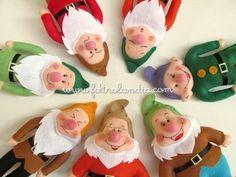 Decoração Festa Infantil Branca de Neve e os Sete Anões - Avulso