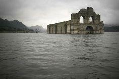 Забытая затопленная 450-летняя церковь в Мексике появилась над поверхностью воды из-за засухи - Путешествуем вместе