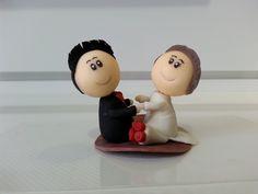 Lembrança - casamento noivinhos