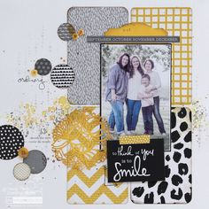 Corner Punches for Scrapbooking or use project life cards for background when doing a full page layout. Scrapbook Sketches, Scrapbook Page Layouts, Scrapbook Paper Crafts, Scrapbook Supplies, Scrapbook Cards, School Scrapbook, Kids Scrapbook, Scrapbook Templates, Paper Crafting