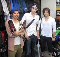 【新宿2号店】 2013年6月16日 J'Vritzの皆さんです。 高校の同級生でバスケをやられてるみたいですよ! #nba