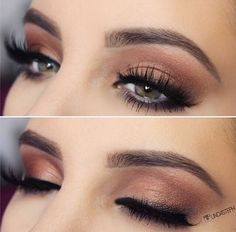 Gorgeous Makeup: Tips and Tricks With Eye Makeup and Eyeshadow – Makeup Design Ideas Gorgeous Makeup, Love Makeup, Makeup Inspo, Casual Eye Makeup, Elegant Makeup, Red Makeup, Makeup Style, Beauty Make-up, Beauty Hacks