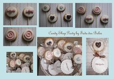 Candy Shop Party Cookies II By Fada dos Bolos