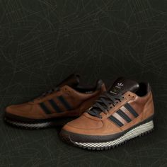 big sale 91300 66755 Adidas Originals x Barbour TS Runner, sport chic, brown sneakers, casual  style…