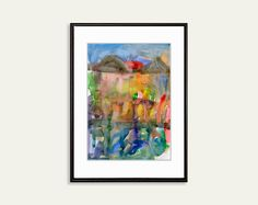 #Printable #Abstract #watercolor #painting #WallArt #InstantWalldecor #Download #Digital #ArtPrint