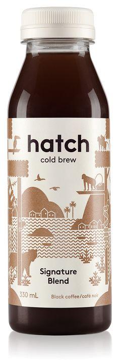 Hatch Cold Brew Coffee Bottle