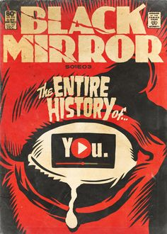 You are watching the movie Black Mirror on Putlocker HD. Black Mirror is an anthology series that taps into our collective unease with the modern world, with each stand-alone episode a sharp, suspenseful tale Comics Vintage, Vintage Comic Books, Charlie Brooker, Series Black, Comic Style, Non Plus Ultra, Metzger, Culture Pop, Nerd