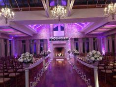 Indoor wedding chapel in the Somerley Suite