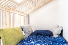 cabane, enfant, bois, chambre, design