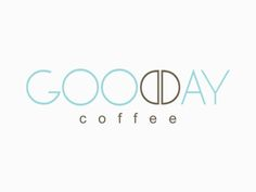 Para celebrar o dia do café, um logotipo genial. Good Day Coffee #logo