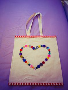 Decorate your own tote bag, so simple and quick!