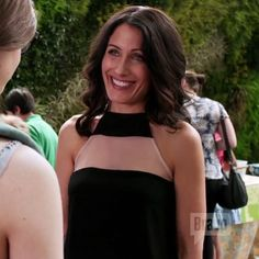 Lisa Edelstein is mommy chic in our black High Top Cami.... @bravotv #girlfriendsguidetodivorce #caminyc #womensfashion