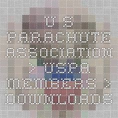 U.S. Parachute Association > USPA Members > Downloads