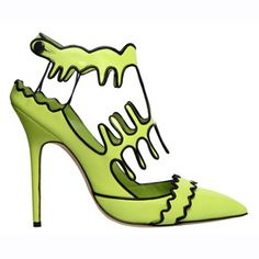 Blahnik articulo vert  El diseñador se inspira en las coloridas obras de Henri Matisse para su nueva coleccion