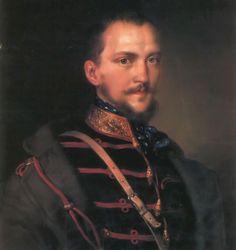 Görgei Artúr by Miklós Barabás - Hungarian Revolution of 1848 - Wikipedia, the… Austrian Empire, Revolution, Street Art, History, Hungary, Image, Homeland, Freedom, Ann
