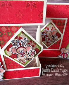 Blankina creations: New release & challenge : Mice Christmas