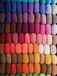 You know you're a knitter when this picture makes you drool with excitement!