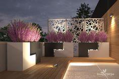 Taras na dachu  projektowanie
