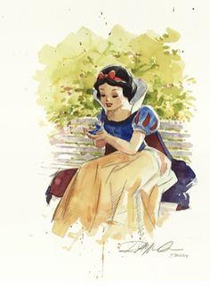 Snow White #disney #fanart #disneyfanart