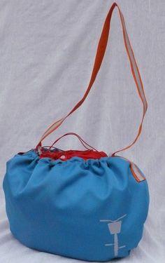 Wodoodporna  torba do koszyka rowerowego w TIMIMILI na DaWanda.com