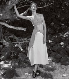 visual optimism; fashion editorials, shows, campaigns & more!: island dressing: vanessa by josh olins for wsj april 2015