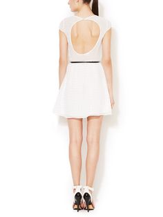 Lia Belted A-Line Dress by DV by Dolce Vita at Gilt