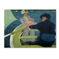 Trademark Fine Art Mary Cassatt 'The Boating Party 1893-94' Canvas Art