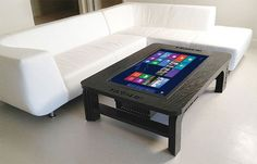 Coffee Table Touchscreen Computer - Take My Paycheck - Shut up and take my money! | The coolest gadgets, electronics, geeky stuff, and more!