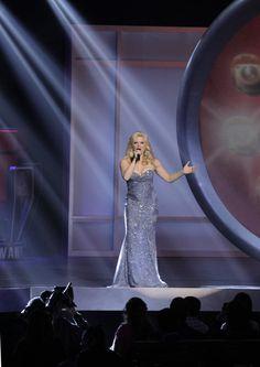#Smash's Megan Hilty at the 2012 NBC Upfront