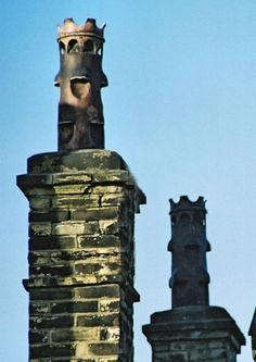 Easter Island Chimney Pots