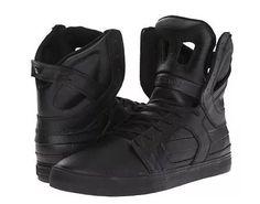 zapato tenis hombre supra skytop ii negro/nego