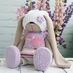 Baby Crochet Gifts Hooks Ideas For 2019 Crochet Rabbit, Crochet Bunny, Crochet Animals, Knitted Dolls, Crochet Dolls, Baby Diy Projects, Crochet Supplies, Crochet Blanket Patterns, Crochet Gifts