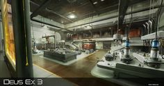 weapons research lab concept art - Google Search