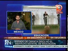 México: Estado de Oaxaca disolvió el Instituto Estatal de Educación