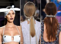Romantic Bows and Soft Ribbons--Spring/ Summer 2016 Hair Accessory Trends: Bows & Ribbons