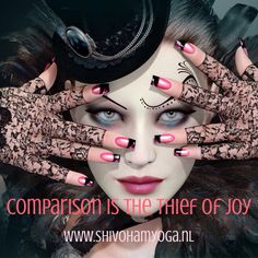 Comparison is the thief of joy http://www.shivohamyoga.nl/ #joy #inspirationalquotes #quotes #zen #breathe #enjoy #life #happy