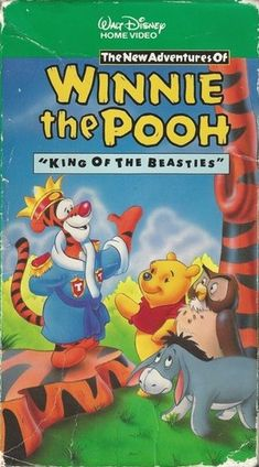 *THE NEW ADVENTURES of WINNIE the POOH ~ King of Beasties VHS