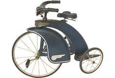 Vintage Art Deco Child's Tricycle (via Art Deco Art Nouveau) Antique Toys, Vintage Toys, Vintage Art, Velo Vintage, Vintage Bicycles, Art Quotidien, Art Nouveau, Velo Design, Retro