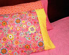 Simple Sewing: Pillowcases