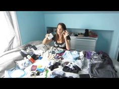 """Packing for southeast Asia - YouTube. I am impressed with her small bag, but her blog says she felt """"like a bum"""" in Singapore, and was underdressed in Muslim areas."""