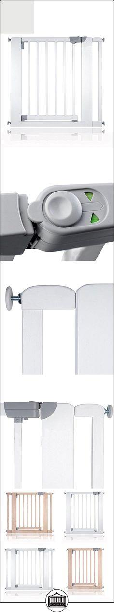 Safetots-Ovillo de madera presión Fit Puerta de seguridad 74-97cm blanco roto blanco Talla:81 - 89 cm  ✿ Seguridad para tu bebé - (Protege a tus hijos) ✿ ▬► Ver oferta: http://comprar.io/goto/B01DO1IWWY