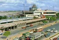 Aeroporto de Congonhas em 1968.