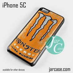 monster energy drink ultra sunshine Phone case for iPhone 5C and other iPhone devices