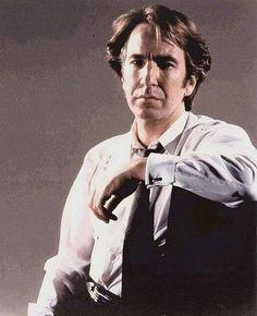 "1991 - promo photo of Alan Rickman for the movie ""Closet Land."""